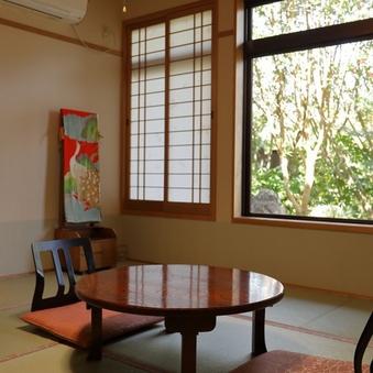 【禁煙】和室8畳/山手庭側