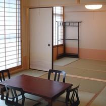 客室例(8畳+6畳和室タイプ)