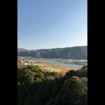 屋上展望台からの風景