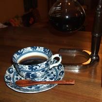 挽き立てコーヒー