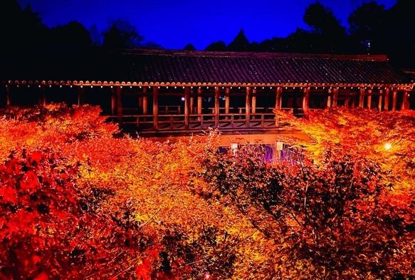 【期間限定】紅葉の名所 東福寺夜間拝観券付 一泊朝食付きプラン
