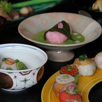 【春の会席】 お料理の一例