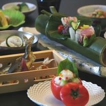 【夏の懐石】 お料理の一例