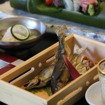 【夏の懐石】お料理の一例