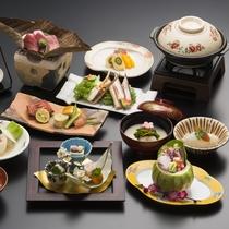 【冬の会席】季節ごとに趣向を凝らした京料理をお楽しみいただけます。
