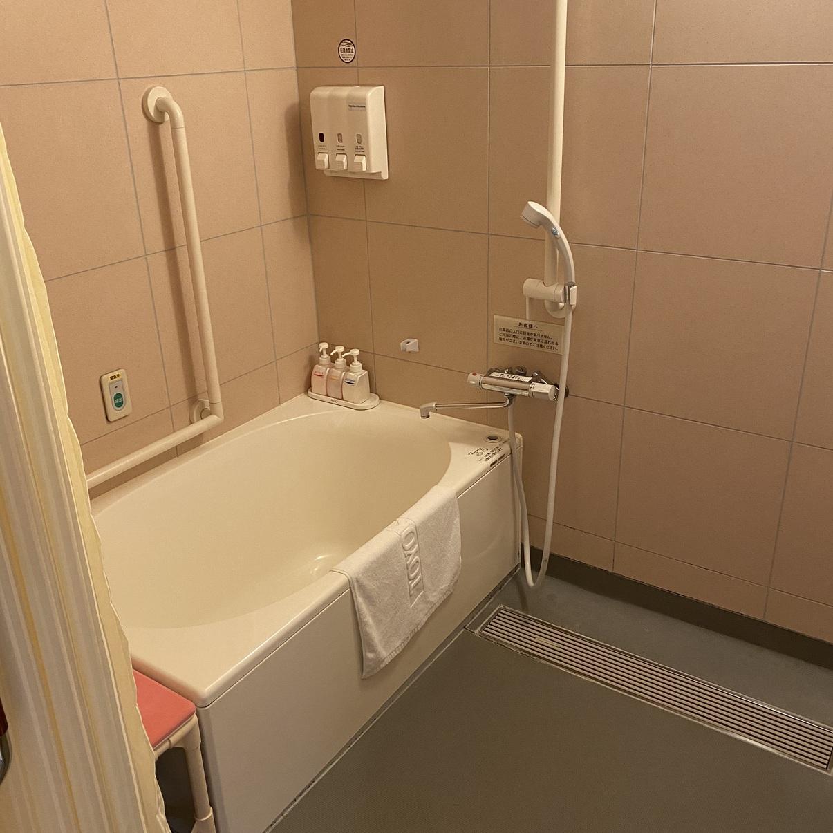 ハートフルルームお風呂