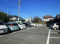 【三幸園無料駐車場♪】