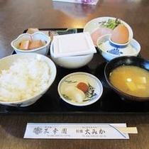 【手作り朝食♪一例】栄養満点!1