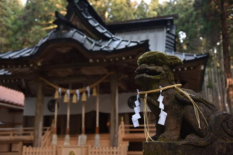 パワースポット御岩神社