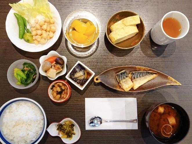健康朝食(一例)