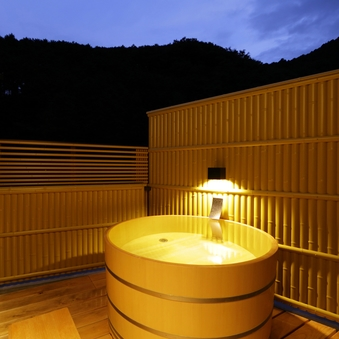 【露天風呂付】和室10+8+6畳(渓流側)井上靖ゆかりの客室