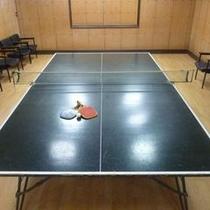 ◆卓球台◆観戦出来るお席もあります。