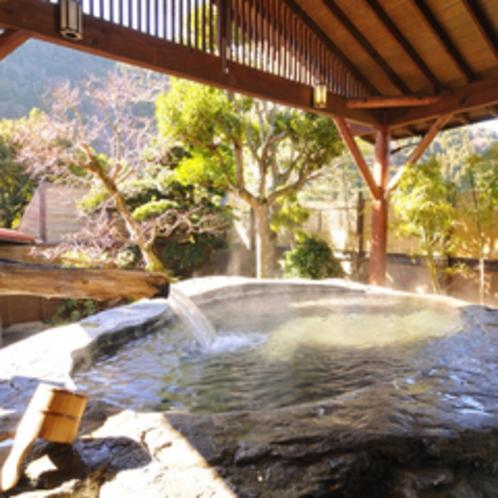 【日本一の巨石風呂1】