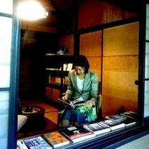 ◆読書部屋◆館内の隠れスポット、将棋や囲碁もあります