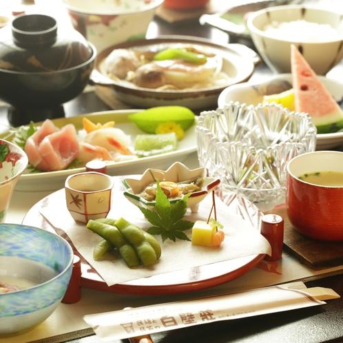 白壁の郷土料理(一例)