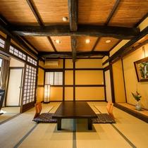 【露天風呂付】和室10+6畳(渓流側)勘四郎