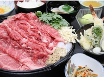 近江牛すき焼き食べ放題プラン