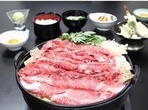 近江牛すき焼き食べ放題プラン2