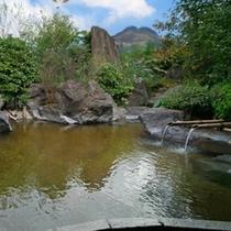 大浴場 由布岳