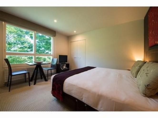 スタジオルーム 自然な風景を取り入れたベッドルーム(一例)