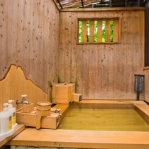 檜の部屋・内湯