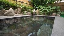 【大浴場/女湯】満天の星と朝の澄んだ空気が味わえる露天風呂