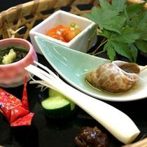 *前菜(料理一例)