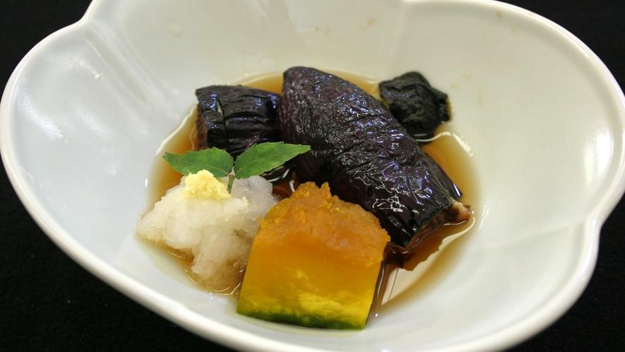 *茄子小鉢(料理一例)