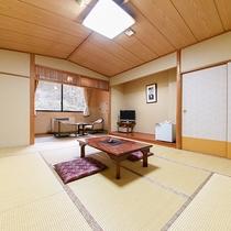 *【客室一例】静かにお過ごしいただける、純和風のお部屋。