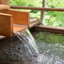 *風呂(露天風呂)貸し切り露天風呂!檜の香りに包まれ安らぎのひと時を