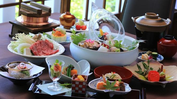 【料理長渾身、極上の会席料理】日本料理の極意を味わう、美食の晩餐 〜かたくりコース〜