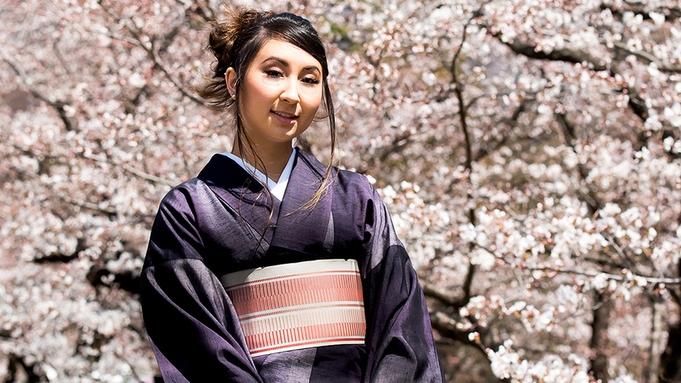 粋な上田紬でレトロ街歩き 〜『着物レンタル・着付』付き。手ぶらでお洒落旅 〜