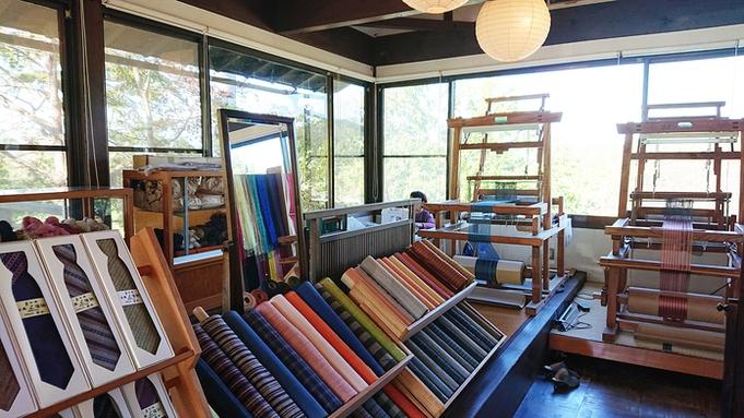 おふたりで紡ぐ、世界で一つの上田紬。 はた織り体験プラン 〜花屋旅の思い出に〜