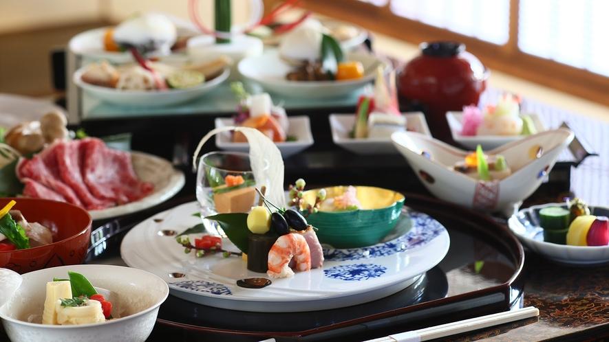 【貴賓室「桜御殿」】お夕食の一例