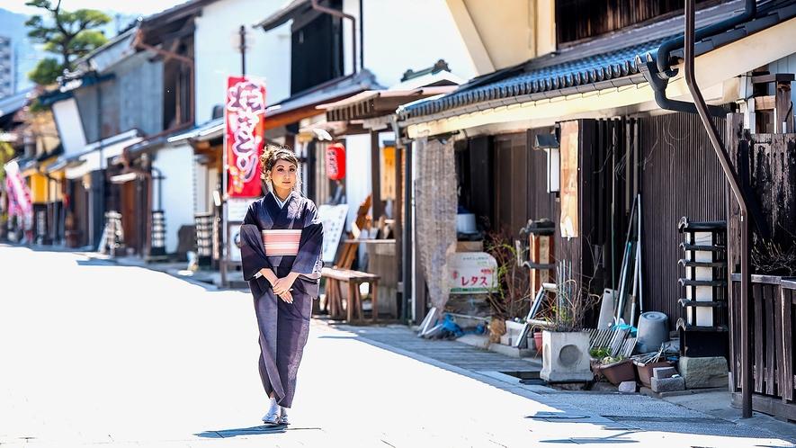 「上田紬着物レンタル・着付付きプラン」をご用意しました