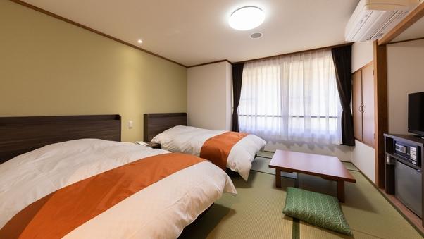 Aタイプ-和洋室ツインルーム(8畳)