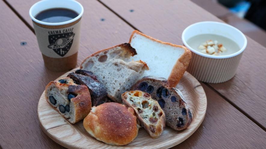 天空の朝ごはん 朝食メニューの一例