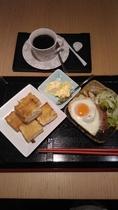 四つ葉カフェ朝食