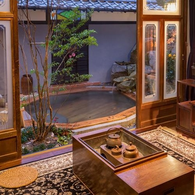 楽天限定【内湯・露天風呂付離れ客室/Premium】大正ロマン漂う洋館で過ごす 極上の一日