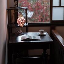 はなれ客室Cタイプ:スイート   浪漫閣月の花/書斎スペース
