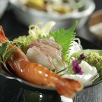 地魚の3種の小鉢