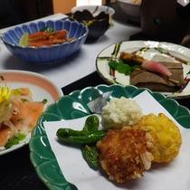*海も山もあり食材に恵まれた富山の季節の味覚をお愉しみ下さい
