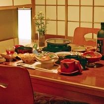 お部屋食のイメージ