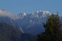 冬の永田岳
