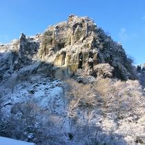 【一目八景2018/1/12の様子】深耶馬渓は美しい雪景色!冬ならではの絶景を見にいらしてください♪