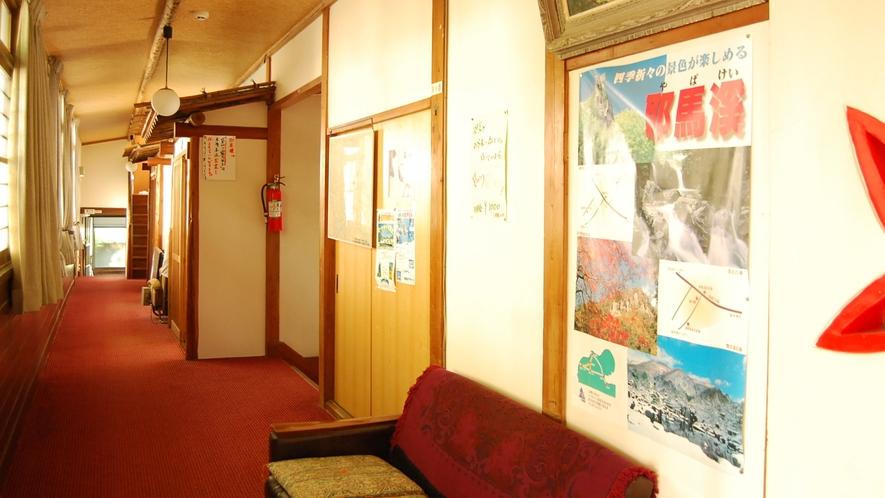 *【館内】昭和のレトロな雰囲気が漂う館内。日々清潔であるよう心がけております。