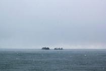 冬の虻が島