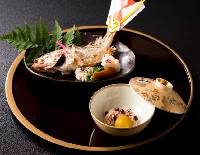 お祝い用の焼魚