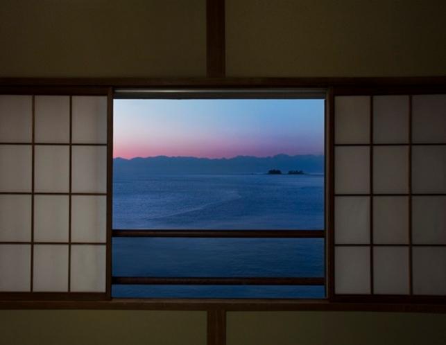 海側の部屋からの景色