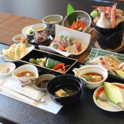 【氷見っ子 基本のお料理】鍋は海鮮or氷見牛よりお選びいただけます。